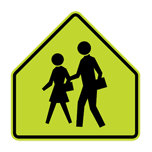 arizona school road sign