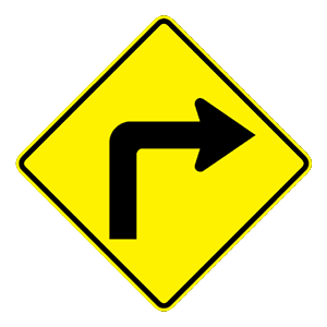 arizona sharp right turn