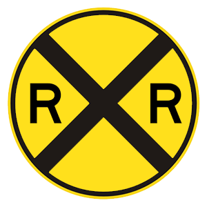 california railroad crossing