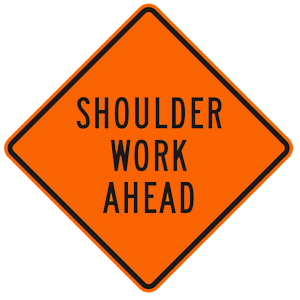 california shoulder work ahead