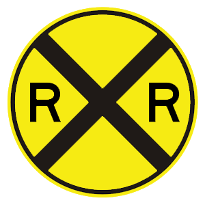 district of columbia railroad crossing ahead