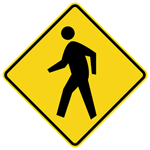 georgia pedestrian crossing