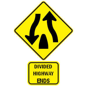 hawaii divided highway ends