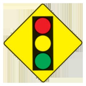 hawaii traffic signal ahead