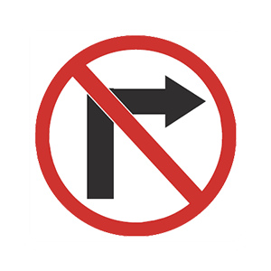 illinois no right turn