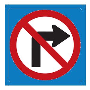 maryland no right turn