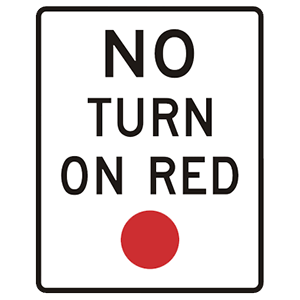 maryland no turn on red