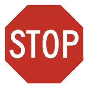 maryland stop road sign