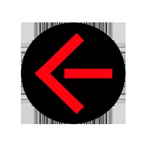 nebraska traffic signal red arrow left road sign