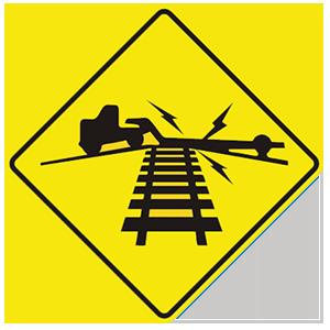 virginia low ground railroad crossing