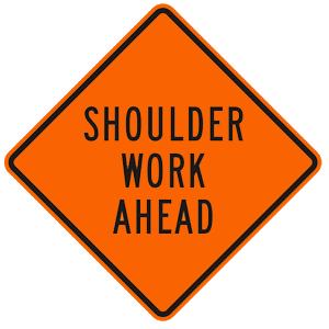 california shoulder work ahead