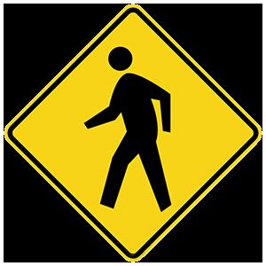 georgia pedestrian crossing