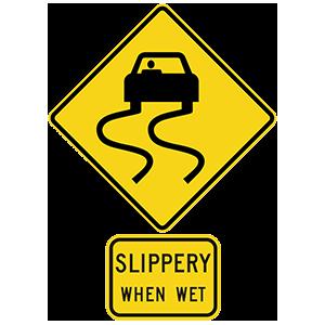 georgia slippery when wet
