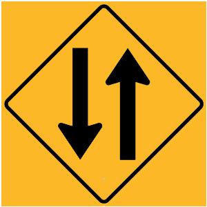 new york two way traffic