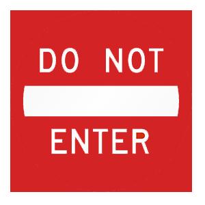 pennsylvania do not enter