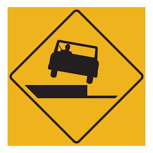 pennsylvania shoulder drop off