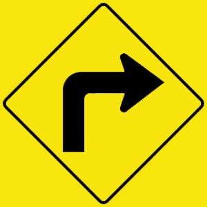 virginia sharp right turn